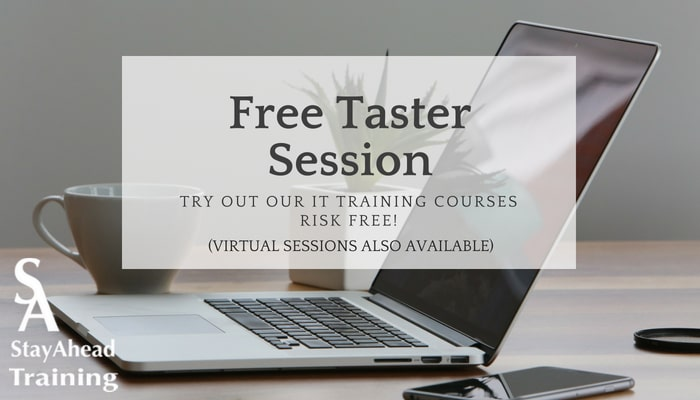 StayAhead Taster Sessions